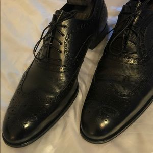 Men's authentic Louis Vuitton leather shoes ST0079